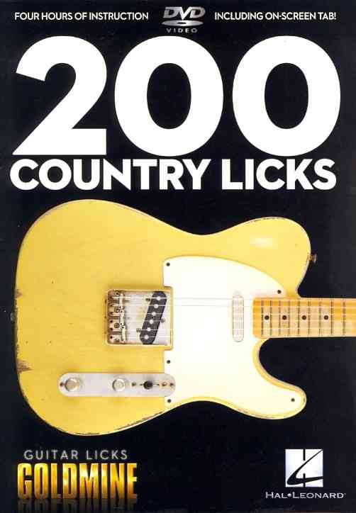 200 COUNTRY LICKS BY HEUSSENSTAMM,JOHN (DVD)