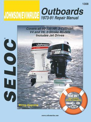 Johnson/Evinrude Outboards 1973-91 Repair Manual By Coles, Joan/ Coles, Clarence